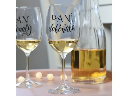 HOUSEDECOR Sklenice na víno - Paní dokonalá