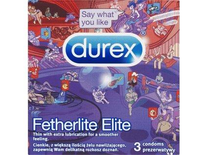 Fetherlite Elite Emoji kondomy, 3 ks