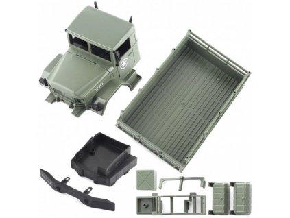 Military truck WPL B-16K 1:16 6x6 - KIT - zelené