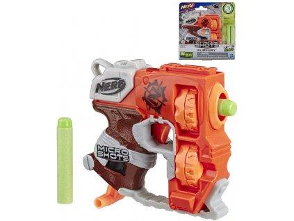 HASBRO NERF MicroShots set blaster Flipfury + 2 šipky Elite