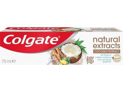Naturals Extracts Kokos & zázvor zubní pasta, 75 ml