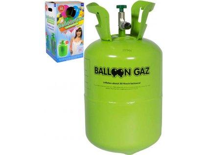 BalloonGaz Helium 250l jednorázové na plnění až 30ks latexových balónků 23cm