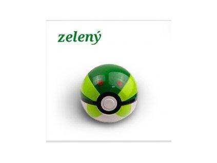 Pokémon PokeBall (Zelený)