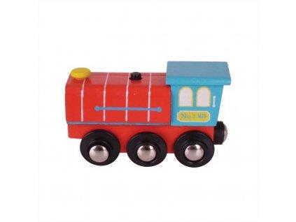 Bigjigs Rail lokomotiva se zvukem