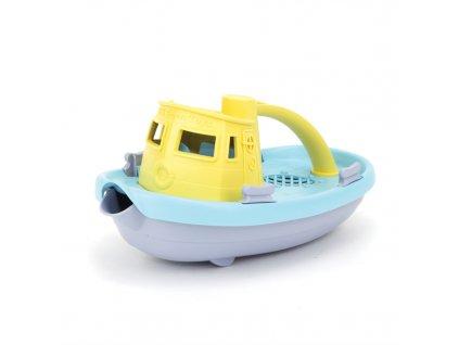 Green Toys Loďka žluto šedá