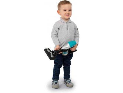 SMOBY Vysavač dětský tyčový Rowenta s kuličkami na vysávání na baterie Světlo Zvuk