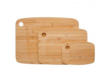 Kuchyňské bambusové prkénko, 3 ks