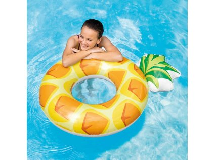 INTEX Kruh plavací ananas 86cm nafukovací kolo do vody 56266