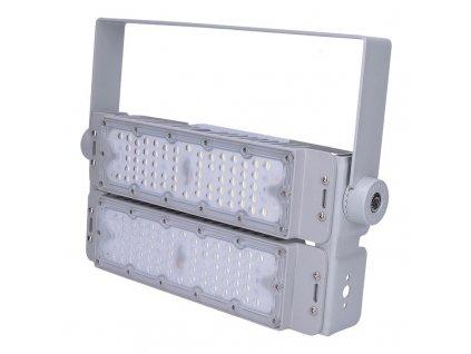 Solight LED venkovní reflektor Pro+2, 100W, 13000lm, 5000K, IP65, šedá