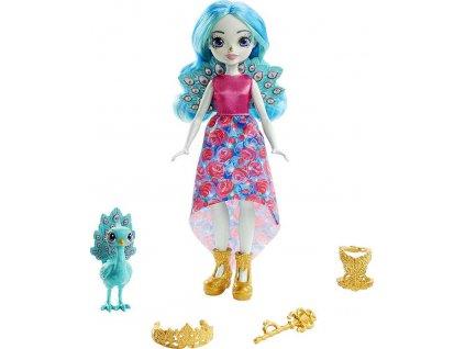 Enchantimals Royal set panenka 20cm + zvířátko 3 druhy plast