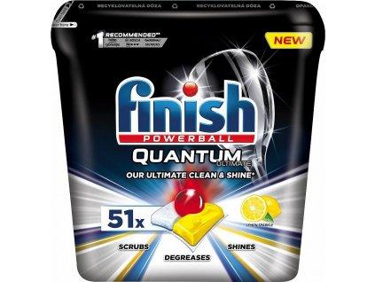 Quantum Ultimate Lemon Sparkle tablety do myčky, 51 ks