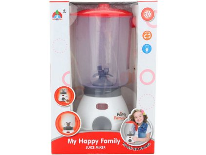 Mixér dětský funkční 24cm na baterie v krabici plast