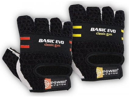 PowerSystem rukavice BASIC - EVO-yellow-m