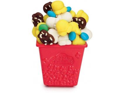 HASBRO PLAY-DOH Výroba popcornu kreativní set modelína 5 kelímků s nástroji