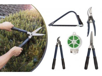Sada pro práci na zahradě, 5 nástrojů