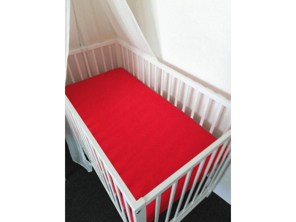 prosteradlo frote 120 60cm baby tex cervena.jpg.big
