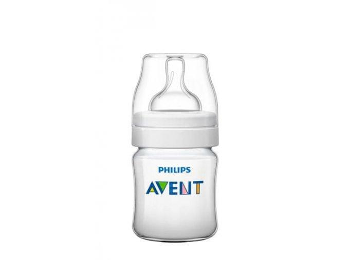 Philips Avent Kojenecká láhev Classic+ 125 ml (PP), 1 ks