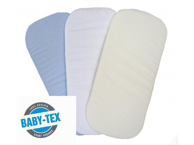 Jersey potah na matraci do kočárku -výběr barev