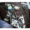 Chránič sedadla+kapsář 2v1-výběr vzorů a barev