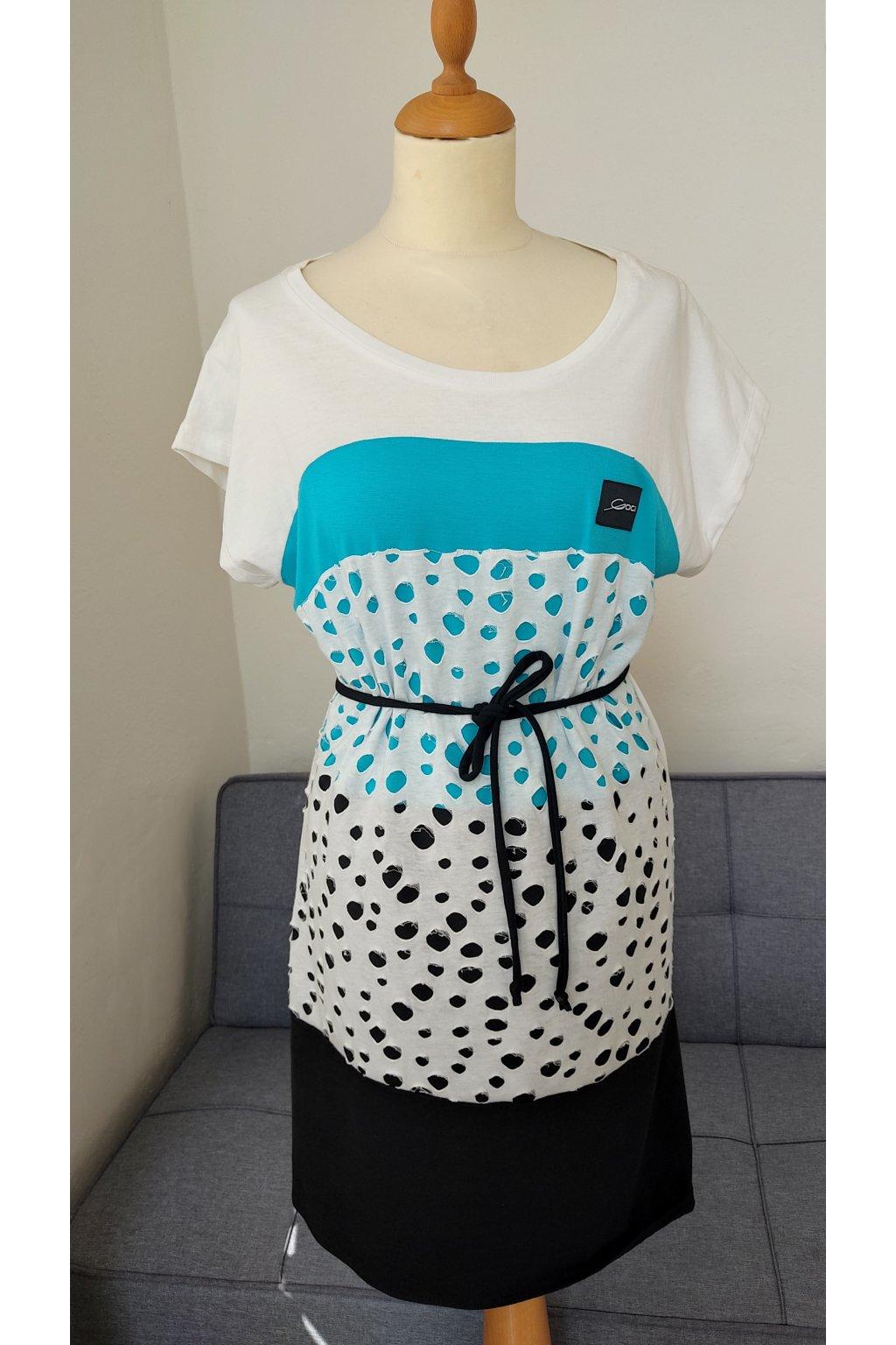Šaty krátký rukáv (3)