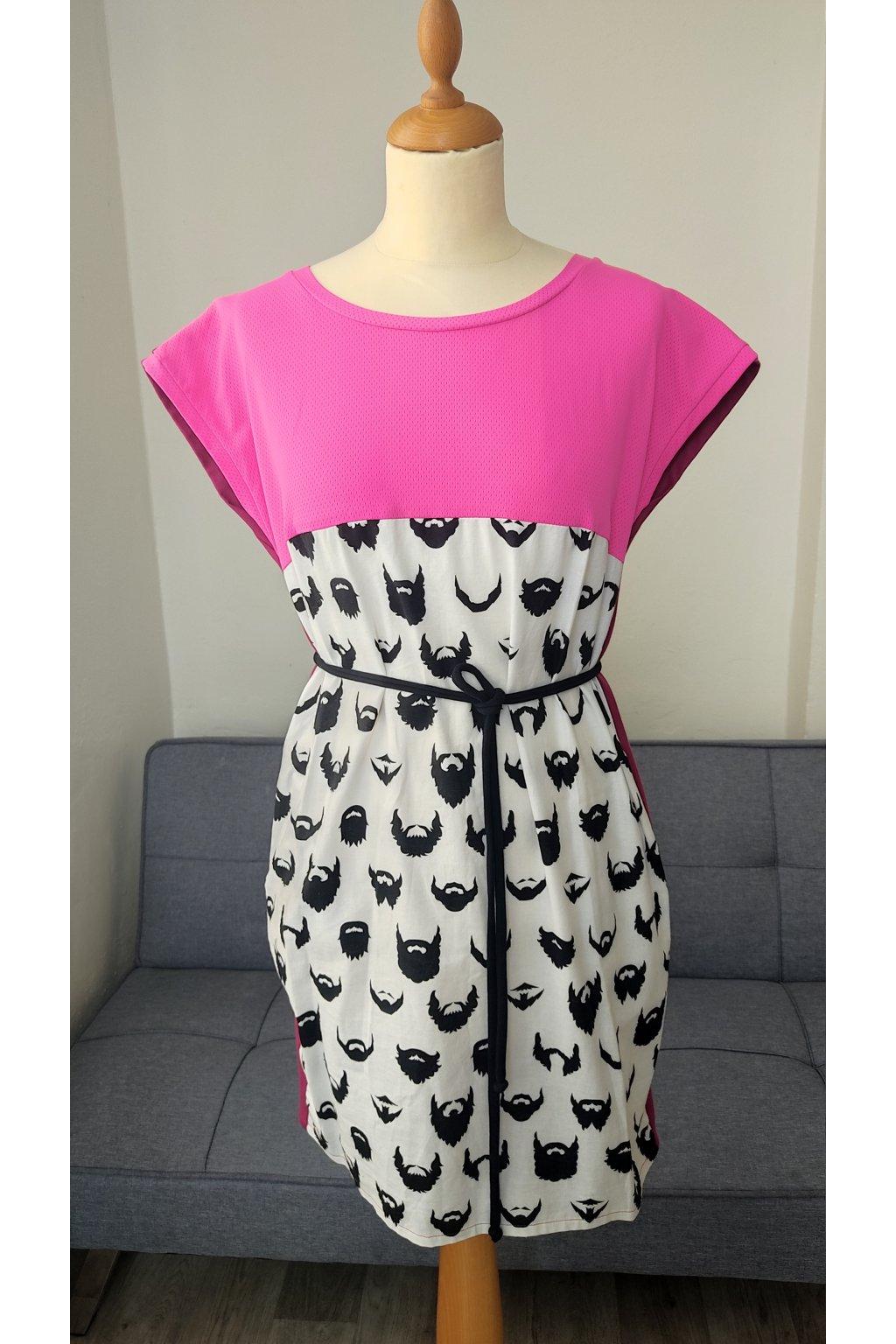 Šaty volné s potiskem (3)