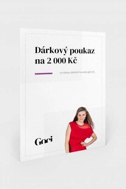 darkovy poukaz goci 2000