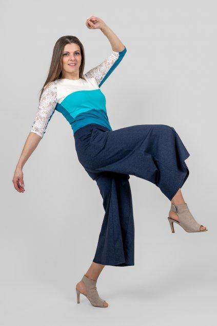 Dámská kalhotová sukně s kapsami Goci