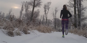 Všetko o tom, ako behať v zime.