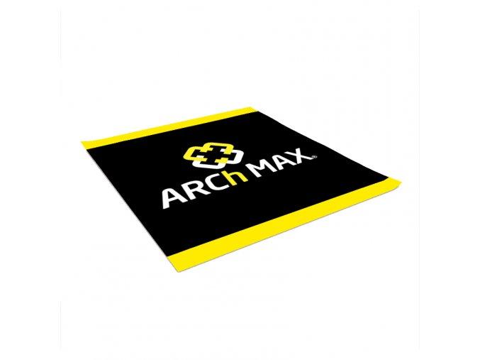 Šatka na krk ARCh MAX - čierna/ žltá