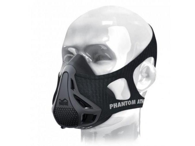 phantom training mask black
