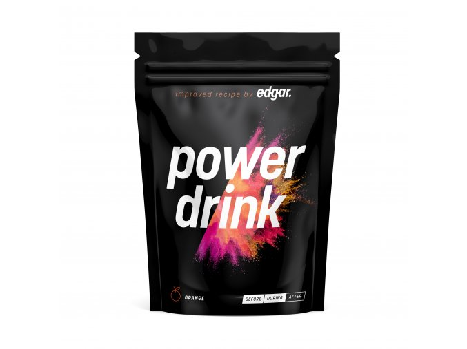 powerdrink front orange