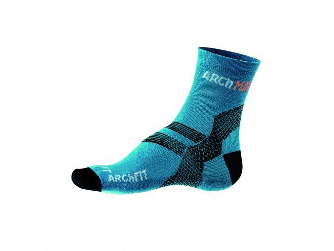 Ponožky Archfit Run - modrá