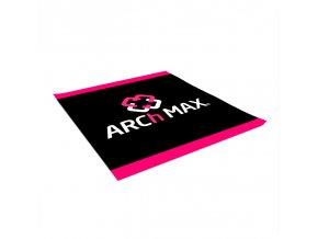 Šatka na krk ARCh MAX - čierna/ ružová