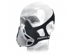 phantom training mask black silver 1