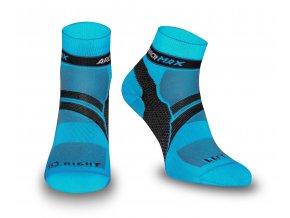 Ponožky Ungravity Short - modrá