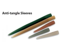 ANTI-TANGLE SLEEVES SOFT 2CM TRANSLUCENT BROWN