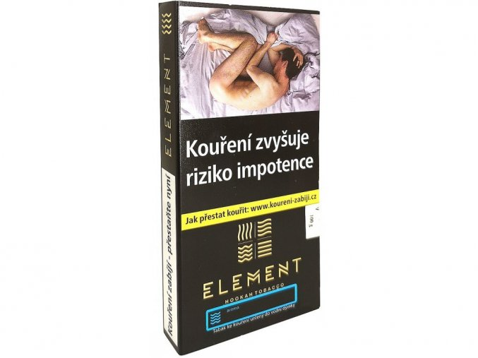 Tabák Element Voda - Belgian wffl (Belgická vafle), 6 x 15g