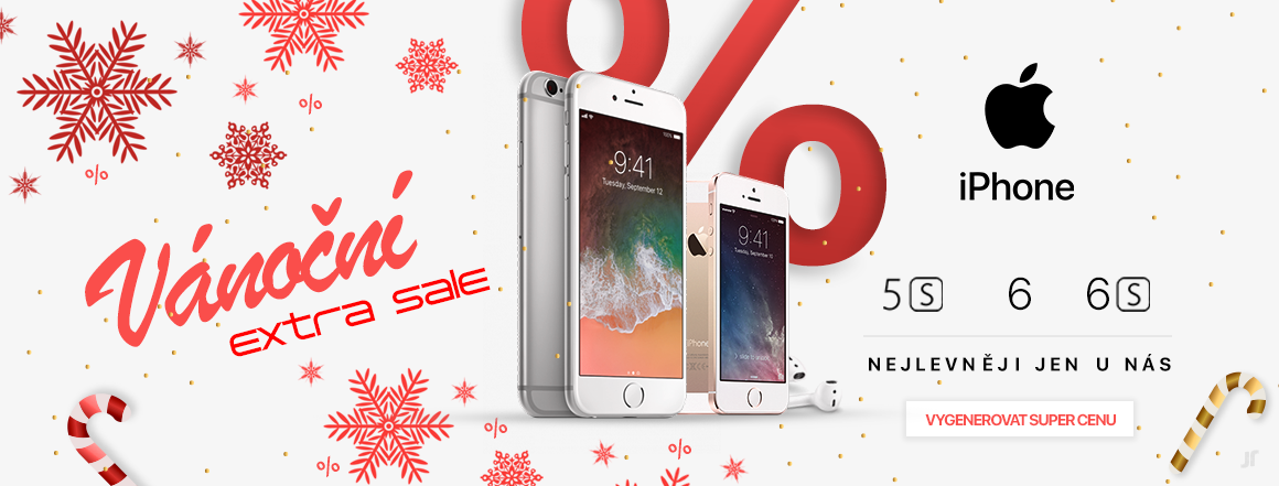 Vánoční extra sale iPhone