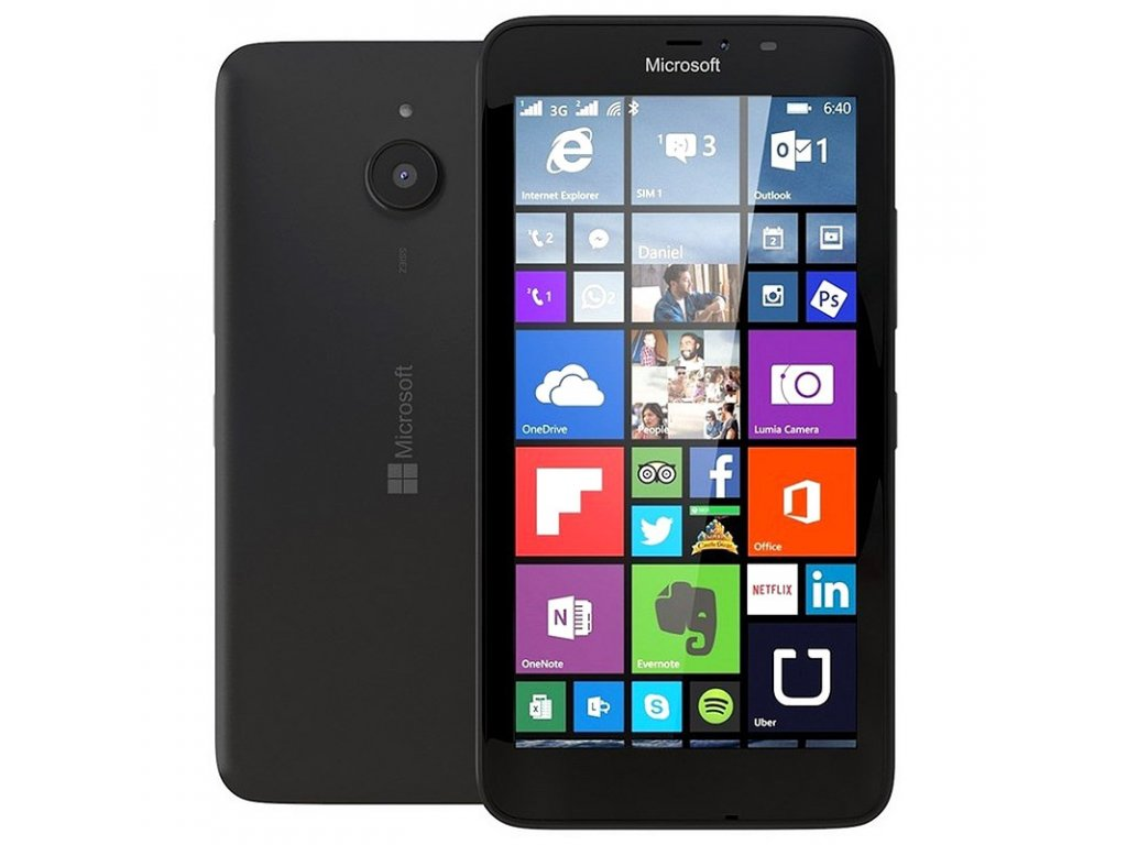 Microsoft Lumia 640 XL 8GB Black 06042015 02 p