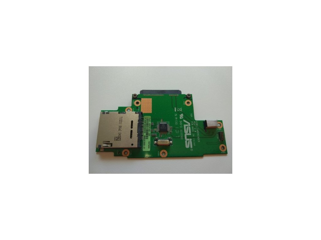 Asus K50 - čtečka SD karet, SATA konektor
