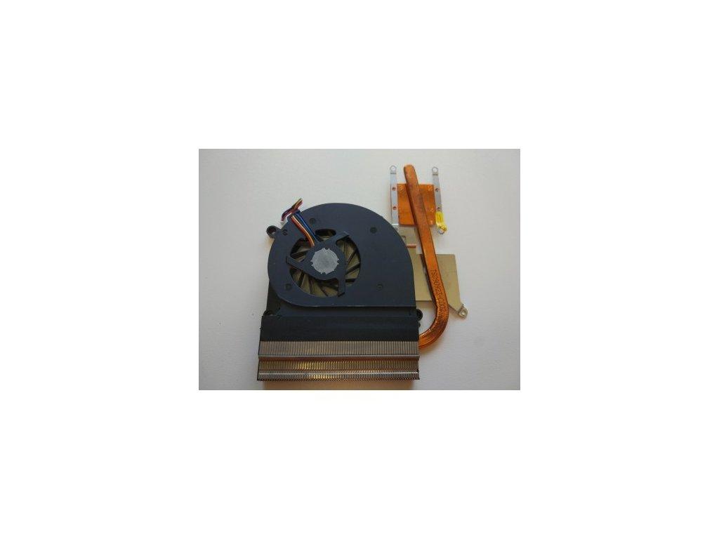 Asus K50 - chlazení + ventilátor