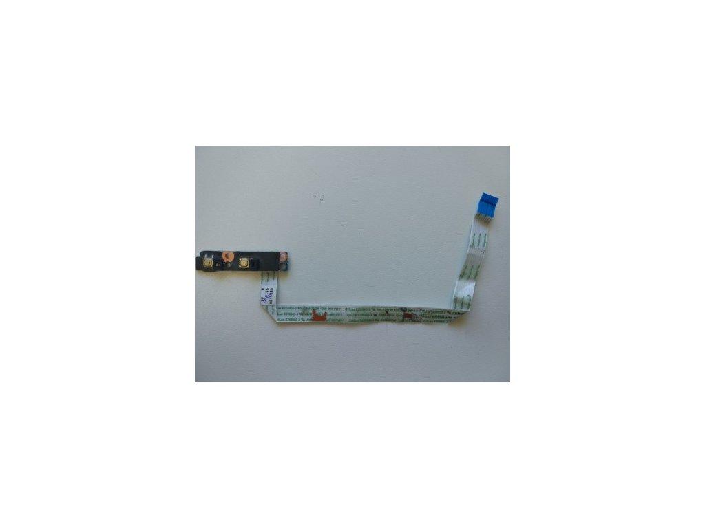 HP 4530s 4535s - tlačítka ovládání WiFi..