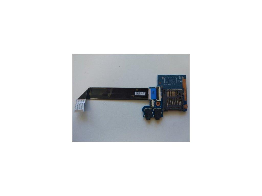 HP 4540s 4545s - čtečka SD karet, jack konektory