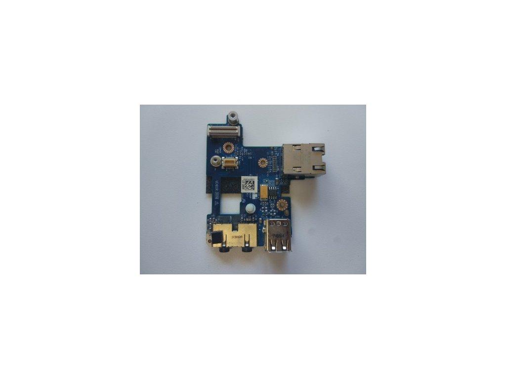 Dell Latitude E6400 - USB konektory + audio