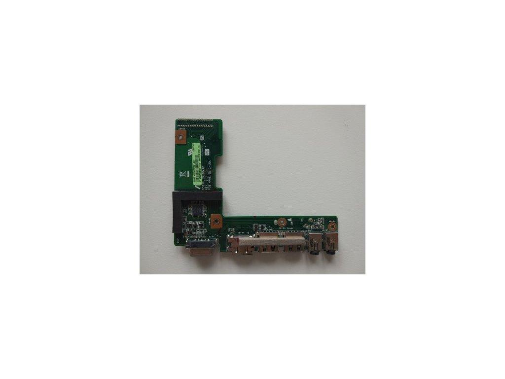 Asus A52 K52 X52 - VGA, HDMI, USB, audio jack