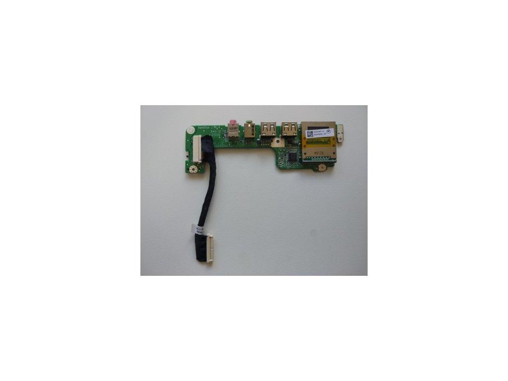 Acer One ZG5 - deska USB, audio, čtečka SD