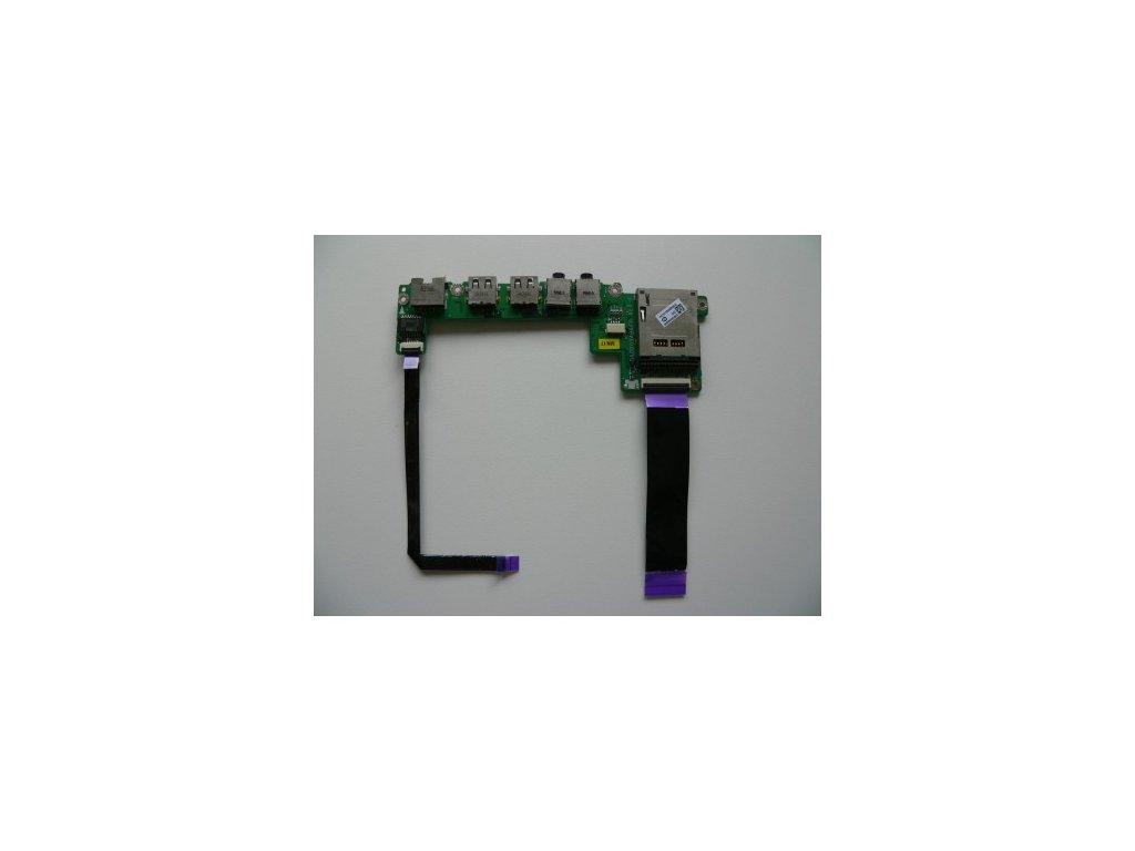 Toshiba Satellite T130 - audio USB LAN deska