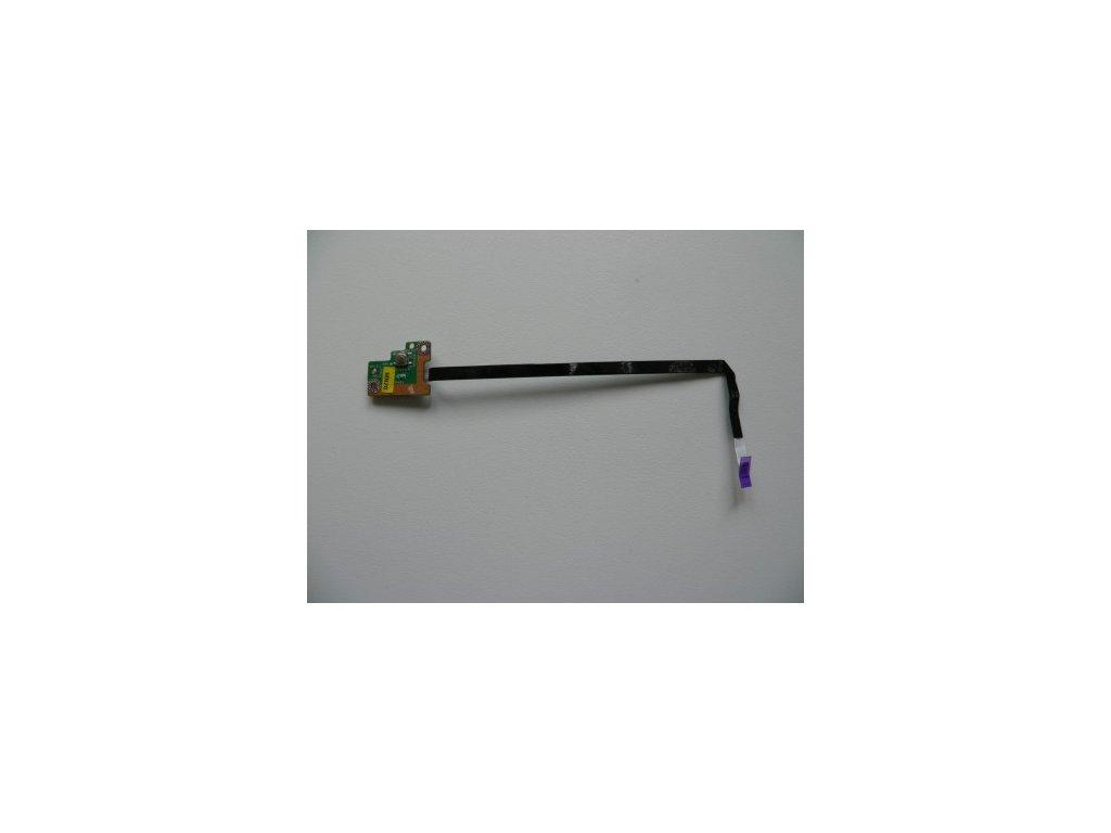 Toshiba Satelite T130 - tlačítko zapínání