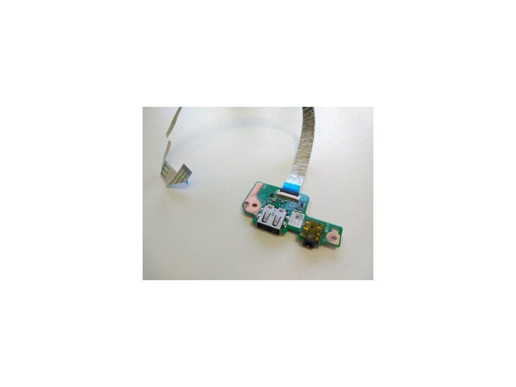 Asus E502S USB audio jack board