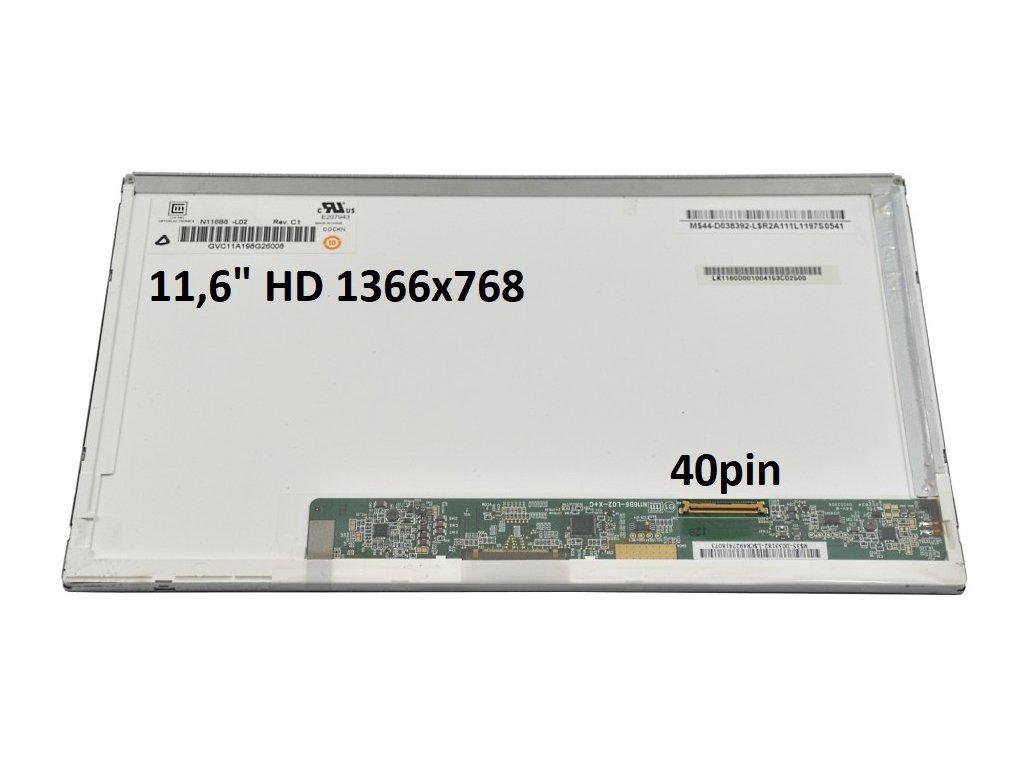 11,6 HD 40pin vpravo